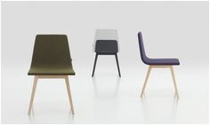 The Twone chair - either a stool or with upholstered seat and back, is designed by Francesc Rife for Ziru Contract.