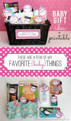 Give a New Mom all of your Favorite Things for Baby! Free printable tags from #baby #gift #Lovely baby #Lovely Newborn| http://lovelynewborn.kira.lemoncoin.org