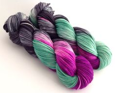 "Hand Dyed Yarn  ""Olivia""  Superwash Merino DK  by YarnLoftbyJulia, $26.00"