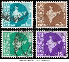 INDIA - CIRCA 1960:
