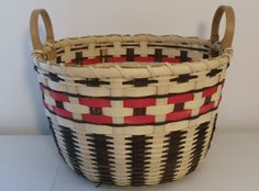Cherokee Bushel Basket hand woven rustic by JChoateBasketry, $65.00