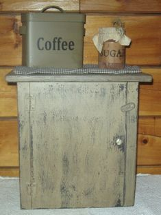 Coffee Maker Cover/Cupboard, w/Door-coffee maker cover, cupboard, wood appliance covers, primitive, country, early prim, early american decor, colonial decor,