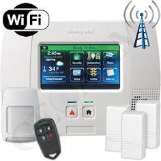 Honeywell L5200 Dual-Paths (Wi-Fi & 4G) Wireless Security System http://www.geoarm.com/honeywell-lynx-touch-l5200-dual-path-wireless-security-system-l52gkt26p-l5100-wifi.html #honeywell #diy #dit #geoarm #security #newtechnology