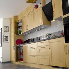 meuble de cuisine gris delinia d lice leroy merlin la cuisine pinterest cuisine ps et. Black Bedroom Furniture Sets. Home Design Ideas