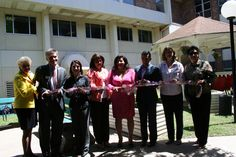 A ribbon cutting dedicating the garden included, Doris Griffin, Executive Director, Jefferson Outreach, Alvin Loewenberg, CEO, Morningside Ministries, Carol Zernial, WellMed Charitable Foundation, Letty Vazquez, Kym's Kids, Tracy Jasso, Representing the Rapier Trust, Cris Medina, Councilperson, District 7, Brenda Schmachtenberger, Executive Director, San Antonio OASIS, and Chris Alderete, Board President, San Antonio OASIS  www.kymskidssa.org/our-team/  www.sanantonio.gov/council