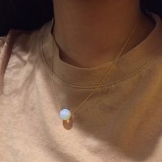 Pearl, aesthetic, necklace