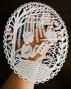 Elaborate Paper Art by Sarah Trumbauer
