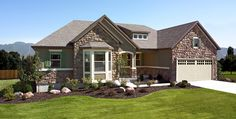 richmond american homes house 2016 ranch style bay windows house. Black Bedroom Furniture Sets. Home Design Ideas