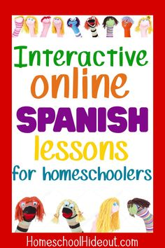 Using these fun Spanish lessons has made all the difference. My kids actually look forward to Spanish now! Spanish Lessons For Kids, French Lessons, Teaching Spanish, Spanish Activities, Teaching French, Learn To Speak Spanish, Learn Spanish Online, Spanish Practice, Homeschool High School