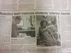 Great coverage in the October 16 AV Press of Joe Walker STEALTH Academy's VEX Robotics students! We are so proud of our VEX Jets!