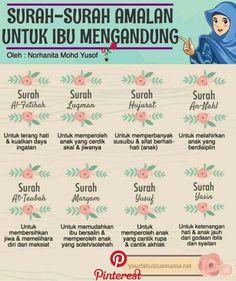 Surah Al Quran for pregnant women to recite. Pregnancy Quotes, Baby Quotes, Life Quotes, Pregnancy Health, Pregnancy Chart, Pregnancy Workout, Islamic Inspirational Quotes, Islamic Quotes, Islamic Dua