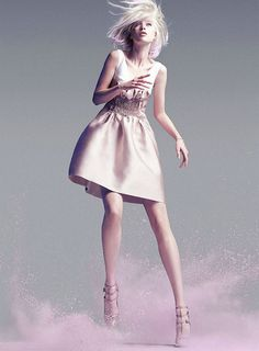 {fashion inspiration | editorial: a study in pastel} by {this is glamorous}, via Flickr - Marie Claire Australia  June 2012