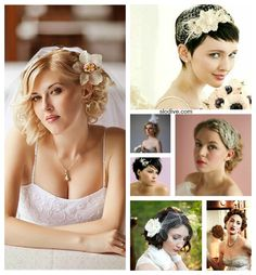 For those Short Haired Brides