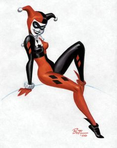 Harley Quinn: Bruce Timm original more funny pics on facebook: https://www.facebook.com/yourfunnypics101