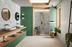 MODERNÉ KÚPEĽNE - Trendové obklady do kúpeľne / BENEVA Le Belem, Ceramica Tile, Villa, Tile Manufacturers, House Tiles, Ceramic Wall Tiles, Marble Effect, Style Tile, Contemporary Decor