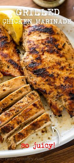 Italian Marinade For Chicken, Best Grilled Chicken Marinade, Grilled Italian Chicken, Italian Grill, Chicken Marinades, Grilled Chicken Marinade Easy, Grilled Chicken Strips, Easy Healthy Dinners, Easy Dinner Recipes