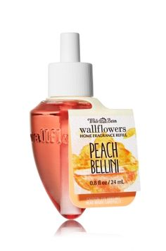 Peach Bellini - Wallflowers Fragrance Refill - Bath & Body Works - Combine with your favorite Wallflowers Fragrance Plug, sold separately, to scent any room with noticeable freshness 24/7 for weeks and weeks.