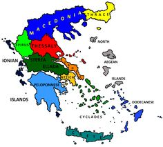 Macedonia and the rest of Greece Greek History, Ancient History, Land Ho, Old World Maps, Alexander The Great, Macedonia, Ancient Greece, Greece Travel, Albania