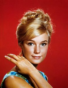 """Yvette Mimmeux = Not exactly a """"star,"""" but of my time."""