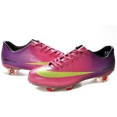 Nike Mercurial Vapor IX FG TPU Boots Hot Pikn Purple Yellow Cheap Nike d6d61ec59e