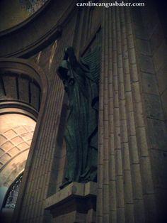 Altar angel, Valle de los Caídos, outside Madrid