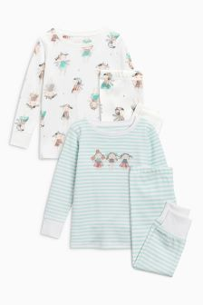 Buy Fairy Snuggle Pyjamas Two Pack from the Next UK online shop Latest Fashion For Women, Mens Fashion, Next Uk, Pyjamas, Snuggles, Bell Sleeve Top, Fairy, Uk Online, Sweaters