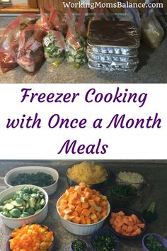 Freezer cooking makes weeknight dinners easy. Once a Month Meals does all of the planning and organizing and calculating for you, so you just select your recipes, print your lists and get to work. Healthy Freezer Meals, Freezer Cooking, Frugal Meals, Healthy Recipes, Easy Cooking, Easy Meals, Healthy Habits, Healthy Life, Healthy Eating