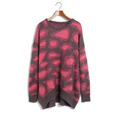 Korean bat Lady's long sleeve sweater [#192]