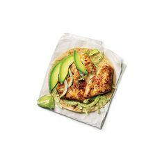 Fish Tacos Takeout Recipe Makeover < 30-Minute Takeout Makeovers -... ❤ liked on Polyvore featuring food, fillers, food and drink, food & drinks, comida, backgrounds, detail and embellishment