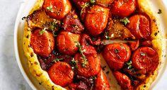 Tarte tatin à la tomateVoir la recette de la Tarte tatin à la tomate >>
