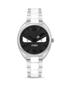 1,595.00$  Watch now - http://vishf.justgood.pw/vig/item.php?t=gnt6zss28624 - Fendi Momento Bug Stainless Steel Watch, 34mm