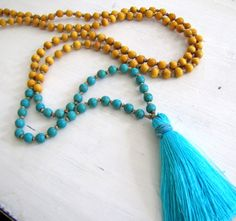 Yoga Tassel Necklace