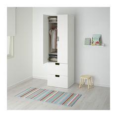 STUVA Säilytyskokon+ovet/laatikot - valkoinen/valkoinen - IKEA