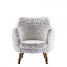 Great for kids lounge area: Wagner Chair from Cort Event rentals, its fur!