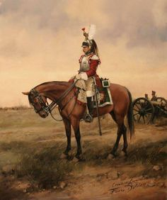 Spanish cuirassier. The regiment was formed in Catalonia were it fought between 1810 and 1814. The regiment was divided in several detachments due to the lack of cavalry in Catalonia. It took part in a lot of minor actions including two raids in French territory.