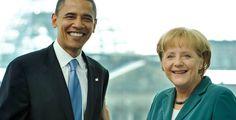 Merkel gratuliert Obama - Bundeskanzlerin Merkel hat dem US-Präsidenten zum überraschend klaren Wahlsieg gratuliert.