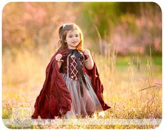 Make a cape for fairy tale photography