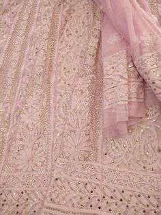 Pink Chikankari Dress Indian Style, Indian Dresses, Indian Outfits, Chikenkari Suits, Lehenga Gown, Anarkali, Manish Malhotra Bridal, Drape Sarees, Indian Bridal Lehenga