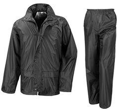 5620e53238f Fishing Waterproof Suit Jacket   Trousers Rain Set Unisex Mens Womens Ladies  Adults. Golf WaterproofsRaincoats ...