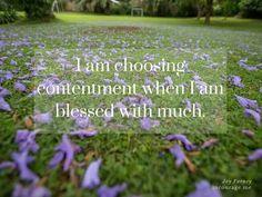 Contentment !!
