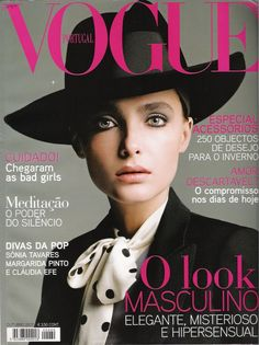 Snejana Onopka by Inez & Vinoodh Vogue Portugal October 2007