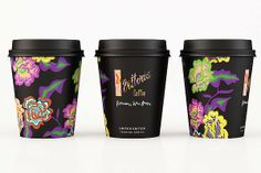 Romance Was Born's Vittoria coffee cup design.