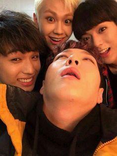 BTOB Hyunsik, Ilhoon, Minhyuk and Changsub ~ in the past, present and future, I love you forever (예지앞사) Btob Changsub, Btob Minhyuk, Yook Sungjae, Im Hyun Sik, Cube Entertainment, Derp, Kpop Boy, Lee Min, K Idols