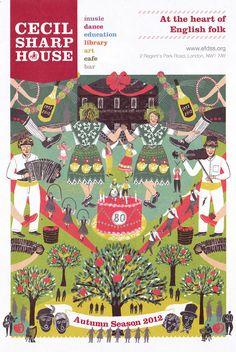 Cecil Sharp House : Alice Pattullo Illustration