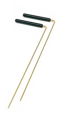Ruten Wünschelrute Holzgriff (38 cm) Tensor Radiästhesie Meditation A102977