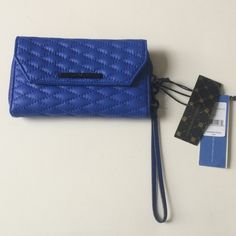 "FINALRebecca Minkoff tech wristlet Rebecca Minkoff tech wristlet. Brand new with tags. Measures 7.5"" long and 4"" tall. Zipper closure. The inside has six card slots, three billfolds, and the zippered pocket. The front has a pouch with a snap closure. Wrist strap is detachable.8L0 No trades. Poshmark onlyI am very open to fair offers! Rebecca Minkoff Bags Clutches & Wristlets"