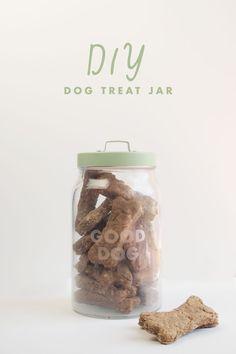 DIY: Dog Treat Jar