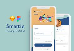 Smartie UI Kit is specially optimized for iOS with minimal style. It includes 20 mobile screen app templates of the highest quality. This UI Kit was designed for Sketch and Figma. Includes: walkthrough, login, tracking and banking. App Login, Login Page, Mobile App Design Templates, Ios Ui, Best Friendship, Minimal Style, Ui Kit, Sketch, Seo