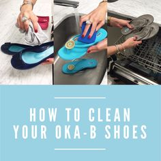 It's easy to clean your Oka-B sandals and ballet flats, some of them can even go in the dishwasher! Check out our guide to washing every kind of Oka-B