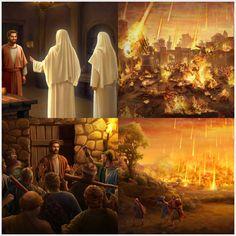 Ξεχειλίζοντας από μοχθηρία και μοιχεία, οι δύο μεγάλες πόλεις Σόδομα και Γόμορρα προκάλεσαν τη διάθεση του Θεού. Ο Θεός έριξε θειάφι και φωτιά από τον ουρανό, ισοπεδώνοντας τις πόλεις και τους ανθρώπους και κάνοντάς τους στάχτη για να εξαφανιστούν, εν μέσω της οργής… Sodom And Gomorrah, Videos, Painting, Art, Art Background, Painting Art, Kunst, Paintings, Performing Arts